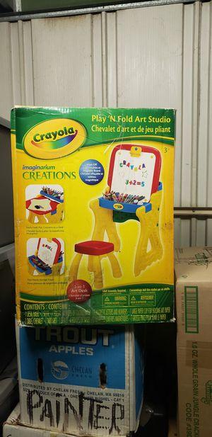 Crayola Play N' Fold Art Studio for Sale in Los Angeles, CA