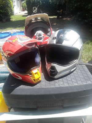 Dirt bike helmets for Sale in Sarasota, FL