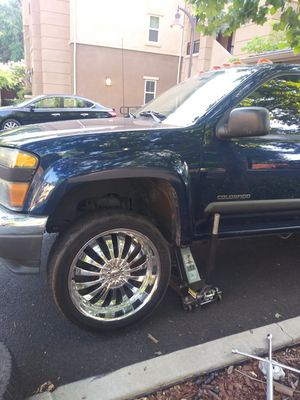 """Just 3 rims with tires. Tires 50% life. Rims 22"""" in good condition for Sale in Chico, CA"""