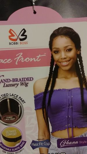 Lace Front Braided Wig for Sale in Lansing, IL