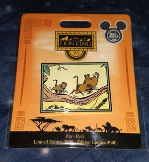 D23 Disney Exclusive Lion King Pin. for Sale in Houston, TX
