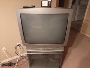 RCA 35 inch TV and TV stand for Sale in Chandler, AZ