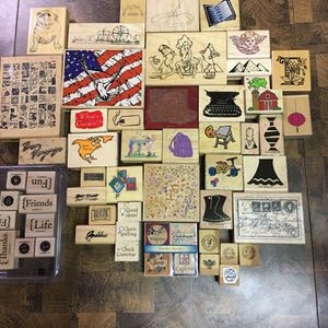Rubber Stamp Lot for Sale in Marion, OH