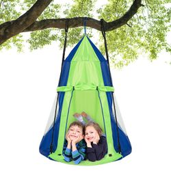 """40"""" Kids Hanging Chair Swing Tent Set Hammock Nest Pod Seat Green for Sale in City of Industry,  CA"""