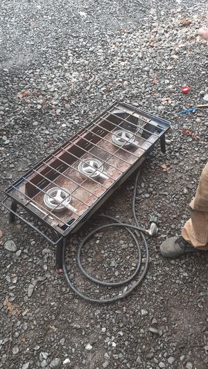 3 burner camp stove Expedition commercial grade for Sale in Albany, OR