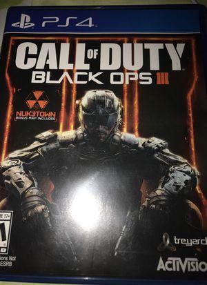 Black ops 3 for Sale in Falls Church, VA