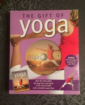 REDUCED~New The Gift of Yoga DVD and Book for Sale in Newburgh, IN