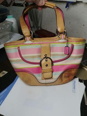 Coach small tote purse for Sale in Spring Hill, FL