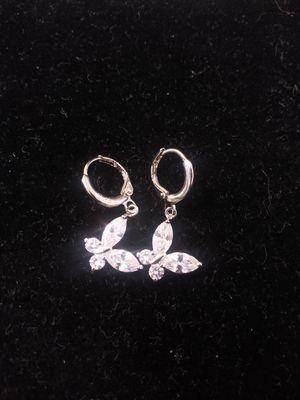 Sterling Silver Butterfly Earrings for Sale in River Oaks, TX