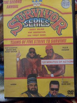 Wwf Survivor Series The Second Annual Dvd for Sale in Chicago,  IL