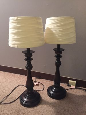 Table lamps for Sale in Bedford, MA