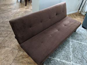 Brown Futon for Sale in Las Vegas, NV