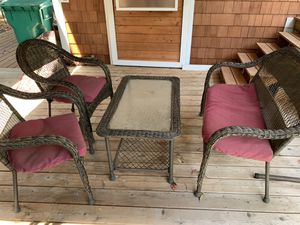 Patio furniture set for Sale in Redmond, WA