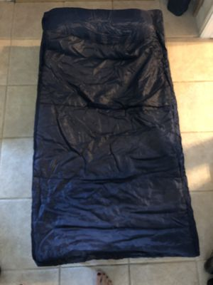 Children's camp cot with sleeping bag for Sale in Katy, TX