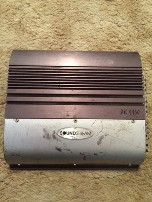 Soundstream 4 channel car amp for Sale in Pittsburgh, PA