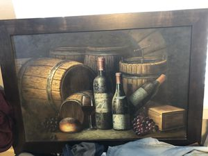 $5 or food . Painting - Wine for Sale in Salt Lake City, UT