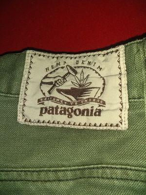 Patagonia, hemp /denim outdoors pants w32/L32 for Sale in Wichita, KS