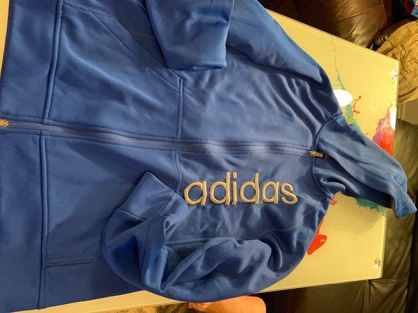 Adidas jacket and shorts