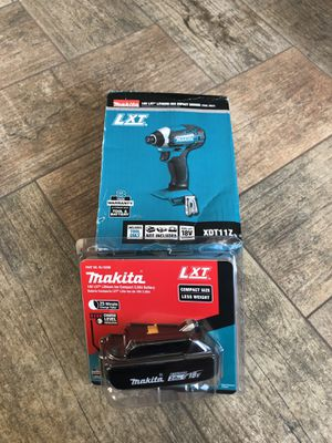 LXT Impact driver and 2.0 battery No charger for Sale in Las Vegas, NV