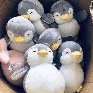 Penguin plushies stuffed animals for Sale in El Monte, CA