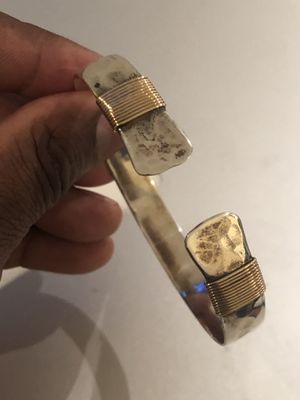 Silver and gold bracelet for Sale in Washington, DC