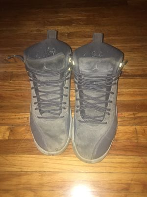Jordan 12 wolf greys for Sale in Cleveland, OH