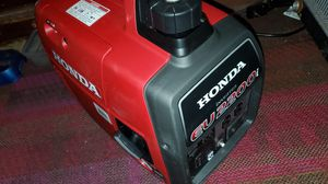 Honda EU2200i Super Quiet Gasoline Powered Portable Inverter Generator with Eco-Throttle and Oil Alert for Sale in Modesto, CA