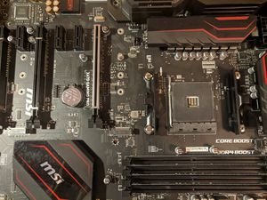 MSI X470 gamer pro motherboard updated bios for Sale in Stroudsburg, PA