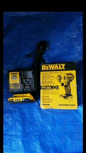 $190. Dewalt 3/8 impact wrench with battery and charger for Sale in Evergreen, CO