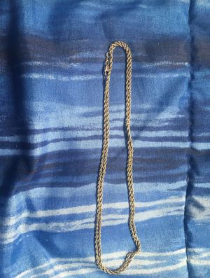 10k solid gold rope chain for Sale in Chula Vista, CA
