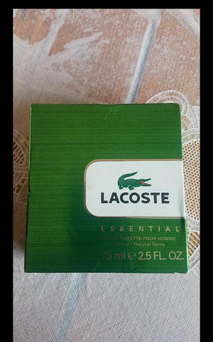 La coste Essential eau de toilette pour homme natural spray 75ml for Sale in San Jose, CA