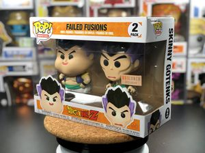 BoxLunch Exclusive Funko Pop! Dragonball Z Failed Fusion 2 Pack for Sale in Seattle, WA