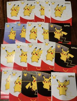 20x Mcdonalds Pokemon 25th Anniversary Promo Cards Sealed Pack 2021 for Sale in Peoria,  IL