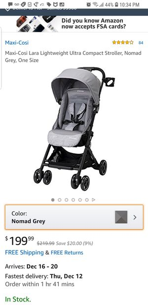 New in the box maxi cosi Lara stroller for Sale in Bakersfield, CA