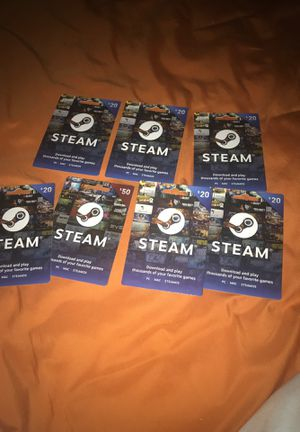 Steam cards for Sale in Georgetown, TX