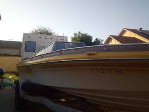1979 Boat and Trailer 175HP Outboard Evinrude V6 Needs Work No Paperwork Permanent AZ Plates for Sale in Phoenix, AZ