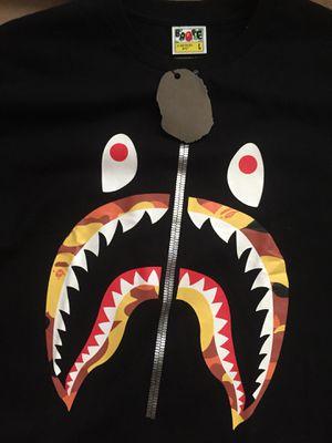 Bape camo shark t shirt for Sale in Salt Lake City, UT