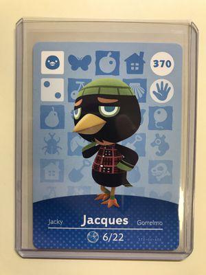 Animal Crossing Amiibo card Jacques 370 for Sale in Boston, MA