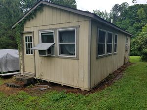 "13'9.5"" wide x 28'long. One bedroom one full bath. Open kitchen living room. Cabin to be moved for Sale in Durham, NC"