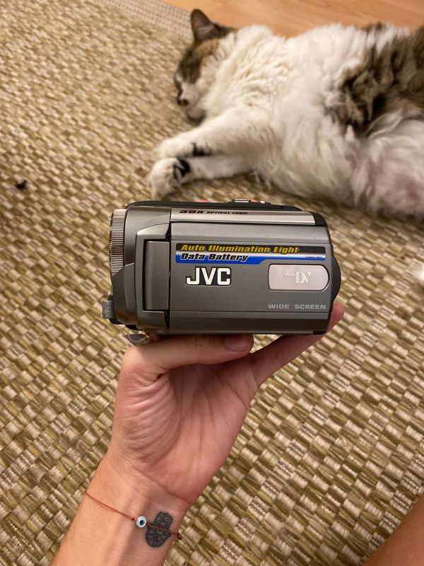 JVC GR-D850U MiniDV Digital Camcorder AutoLight 35x Optical Zoom 16:9
