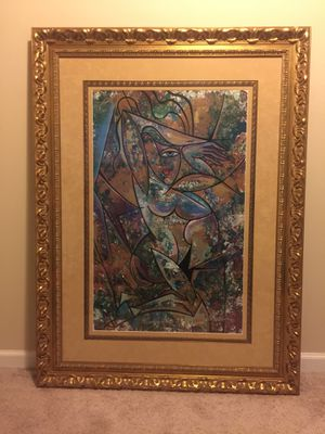 Nude with Drapery II by Anthony Armstrong - Abstract Art for Sale in MD CITY, MD