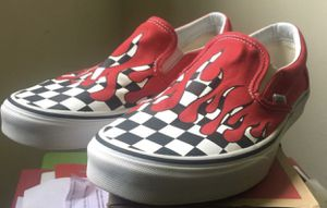 Van Flames Size 9.5 for Sale in Columbus, OH