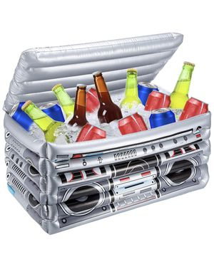 Inflatable Boom Box Cooler (SIZE ON 2ND PICTURE) for Sale in Fontana, CA