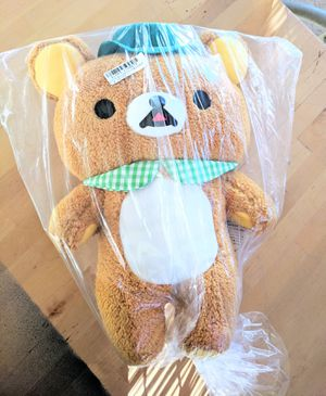 "Dapper Rilakkuma XL 16"" Plush, Japanese Import for Sale in Palmdale, CA"