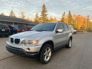 2002 BMW X5 3.0i Sport Utility 4D for Sale in Lakewood, WA