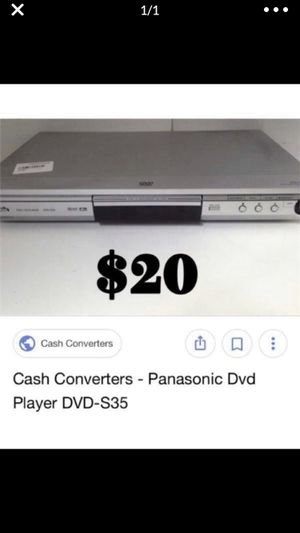 Panasonic dvd 📀 player for Sale in Chicago, IL