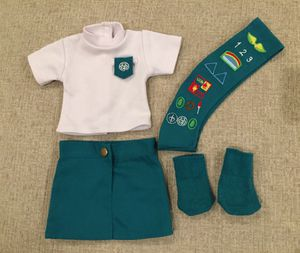 Doll Girl Scouts Uniform fits American Girl for Sale in Moapa, NV