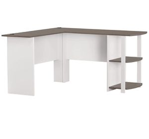 Modern L-Shape Desk with side Bookshelves for Sale in Chicago, IL