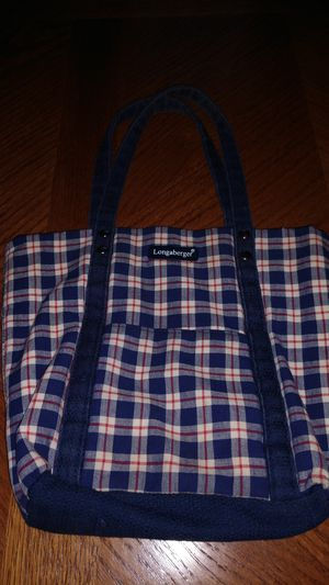 Longaberger Hand bag for Sale in Suffolk, VA