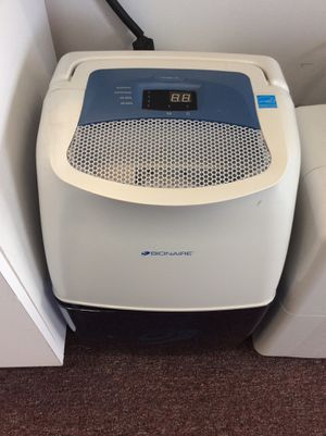 Bionaire BDQ24 Electronic Dehumidifier (18-1364) for Sale in Laurel, MD